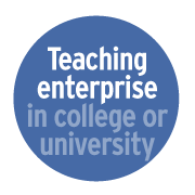 Teaching enterprise in college or university