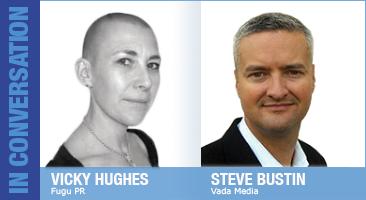 Vicky Hughes and Steve Bustin
