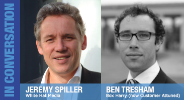 Jeremy Spiller and Ben Tresham