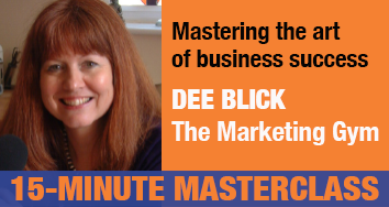 Dee Blick, marketing expert