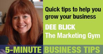 Dee Blick, marketing expert