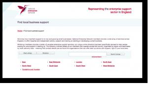 NEN business support directory