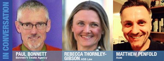 Paul Bonnet, Rebecca Thornley-Gibson and Matthew Penfold
