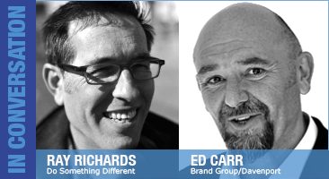 Ed Carr and Ray Richards are Julie Stanford's guests on Essential Business Radio